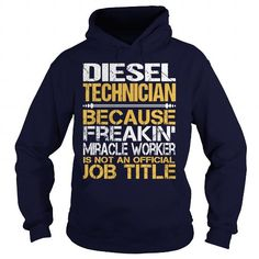 Awesome Tee For  Diesel Technician #sunfrogshirt