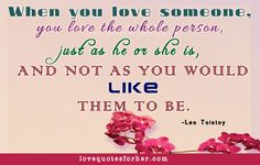 How to love her or him, sweet love quotes