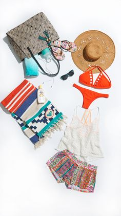 Take a peak inside our beach bag  see what we're packing this summer!
