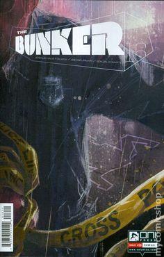 Bunker (2014 Oni Press) 16 Oni Press Modern Age Comic Book covers