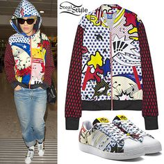 Adidas Rita Ora Fashion | Rita Ora at Heathrow Airport in London on February 11, 2015 – photo ...