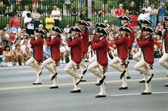 The Fife and Drum Corps perform at the National Archives' July 4 celebration.