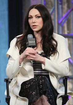 Actress Laura Prepon speaks at AOL Build Presents: 'The Stash Plan' at AOL Studios In New York on March 2, 2016 in New York City.