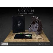 Elder Scrolls V: Skyrim Collector's Edition (Xbox 360) $149.96 Ships: 11/11/2011, and it comes with a map and a Dragon figurine