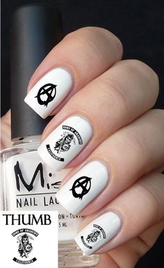 Sons of Anarchy Nail Decal