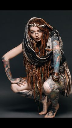 Tattoos And Body Art auto body tattoo Body Art Tattoos, Girl Tattoos, Character Inspiration, Character Art, Beautiful People, Beautiful Women, Beautiful Gif, Dreads Girl, Tattoo Und Piercing
