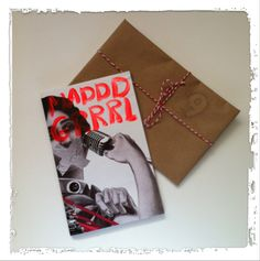 """Sage says, """"On the 9th day of Christmas, my Santa gave to me… nine Maddd Grrrls dancing. Well, I don't know if they're dancing, but definitely marching. This feminist zine is chock-full of sassitude and badassery. Picket signs and megaphone not included."""""""