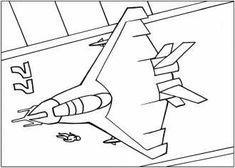 Бесплатные раскраски для мальчиков, самолеты
