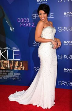 She brought the sparkles to Sparkle!  With her last elegant Sparkle premiere in New York City on Tuesday, Jordin Sparks continues to make her rounds looking FAB, but this time she took her elegant...