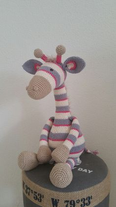 Stip en Haak Giraffe Gijs