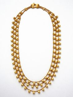 Marco Bicego   Acapulco yellow gold drop 3-strand necklace