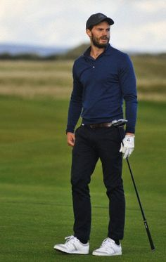 Jamie Dornan, Dunhill Tournament -Scotland October 4, 2014