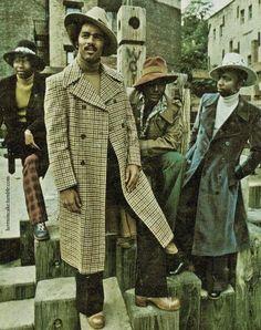 Gentlemen from the 1970's.