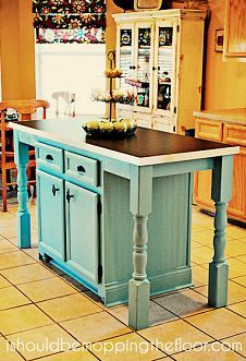 I redid our kitchen island to add a larger counter, seating... This is my post about our easy DIY kitchen island makeover. It's made a huge difference in how we use our kitche...