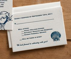 Response Card Wording for Wedding Invitations
