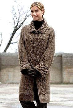 ВЯЗАНОЕ ПАЛЬТО / KNITTED COAT http://mslanavi.ru/post136046448/