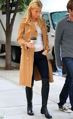 Coat - La Dolce Vita: Modern Style Icon: Gwyneth Paltrow