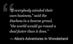 Great Lewis Carroll Quotes
