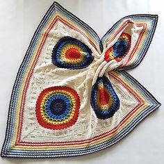 Free crochet pattern: Kaboom blanket crochet-a-long by Spincushions