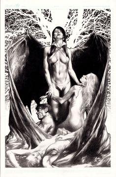 Vampirella by Jay Anacleto