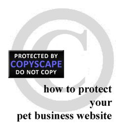 How to Protect Your Pet Business Website. Read more from the PetsitUSA blog: http://www.petsitusa.com/blog/?p=5229
