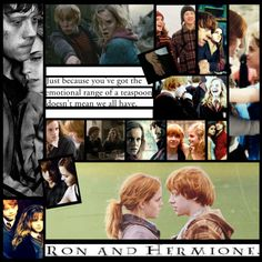 """""""Ron and Hermione"""" by faithsnyder ❤ liked on Polyvore"""