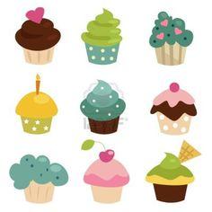 kleurrijke-cupcake-setje