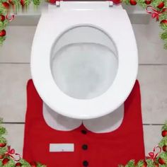 1Set Christmas Santa Claus Toilet Seat Cover Rug Home Decoration Christmas Toilet Lid Case Bathroom Mat Xmas Decorative Gifts Now available 70%OFF with Free Shipping!! Only on neulons.com