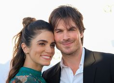 Ian Somerhalder and Nikki Reed walked the red carpet Environmental Media Association's 2017 EMA Awards at Barkar Hangar on Saturday (September 23) in Santa Monica, Calif.