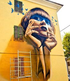 Street art by Setka in Italy