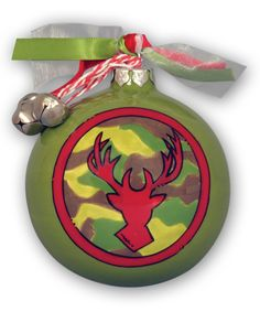 Look at this #zulilyfind! 'Christmas Camo' Ornament by Magnolia Lane #zulilyfinds