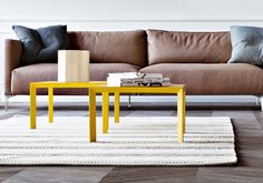 5 Pianca design coffee tables to match 5 different #design trends.