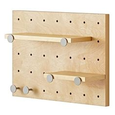 Pegboard Wall Shelves   The Land of Nod