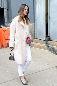 Here's one more way to ride the pink coat trend a little longer.
