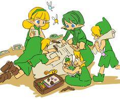 kokiri children! so cute!