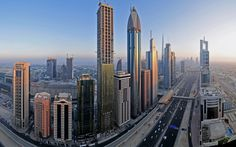 Dubai is one of the most important cities in United Arab Emirates. It is situated towards the southeast coast of Persian Gulf.
