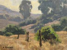 Plein Air Painting by Western American Artist Frank Serrano #Realism