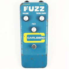 1972 Carlsbro Fuzz - Rare MKIV Sola Sound Tonebender for Carlsbro, Sounds Great!