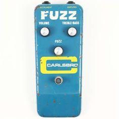 1972 Carlsbro Fuzz - Rare MKIV Sola Sound Tonebender for Carlsbro, Sounds Great!