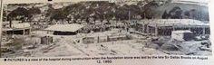 Box Hill hospital under construction 1950