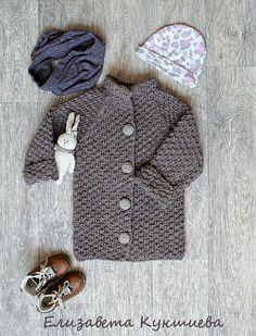 Купить Вязаное пальто для девочки - пальто для девочки, вязаное пальто, пальто, для девочки, детское пальто