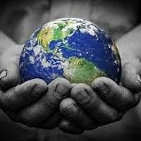 Picture of Man holding an earth globe in his hands. stock photo, images and stock photography. Blockchain, Circular Economy, Clip Art, We Are The World, World Peace, Illustrations, Earth Day, Planet Earth, Sustainable Living