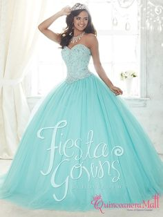 Find pretty quinceanera dresses and vestidos de quinceanera here. These quince dresses are perfect for your Sweet Turquoise Quinceanera Dresses, Pretty Quinceanera Dresses, Quincenera Dresses Blue, Quinceanera Decorations, Quinceanera Party, Ball Gown Dresses, Tulle Dress, Evening Dresses, Strapless Dress