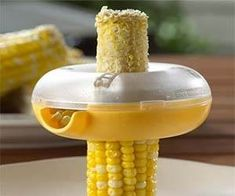 Stop eating corn with your hands like a caveman - now you can easily strip off the delicious corn kernels and have a tasty side dish ready to eat with this...