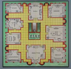 clue board game | All artifact images, interpretive information, and website text
