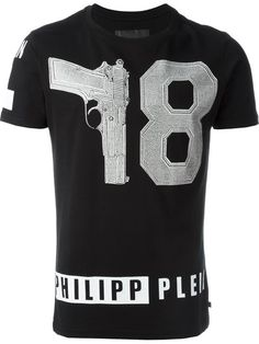 PHILIPP PLEIN 'Hotel' T-Shirt. #philippplein #cloth #t-shirt