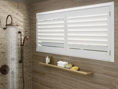 21 Supreme Bathroom Window Ideas : Resplendent bathroom window Ideas.