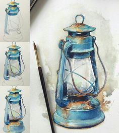 40 Realistic But Easy Watercolor Painting Ideas You Haven't Seen Before Watercolor Drawing, Painting & Drawing, Watercolor Paintings, Watercolor Illustration Tutorial, Watercolors, Easy Watercolor, Watercolor Techniques, Painting Techniques, Art Sketches