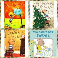 Good toddler books re:discipline #davidshannon #toddlerbehavior