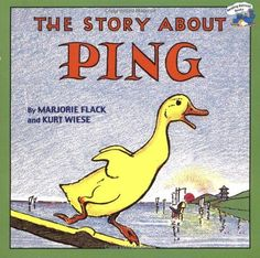 The Story about Ping by Marjorie Flack,http://www.amazon.com/dp/0448421658/ref=cm_sw_r_pi_dp_MA6vtb1MY9A36RNQ